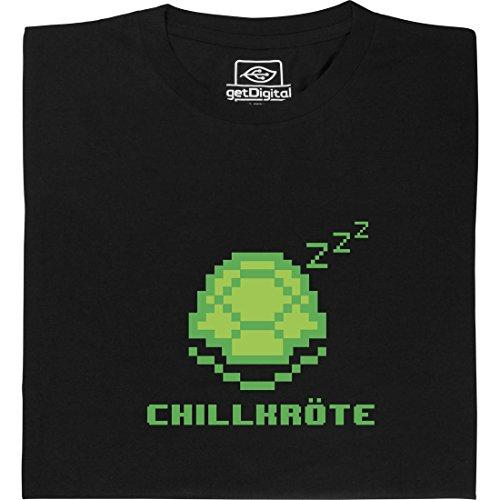 Chill-Out-Tortoise-Tortue-dtendue-shirt-geek-fabriqu--partir-de-coton-100-biologique