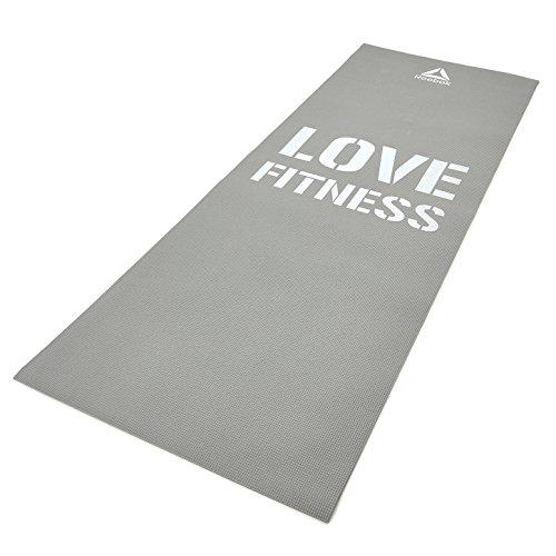Reebok AO2884 Love Fitness Mat, Free Size (Grey)