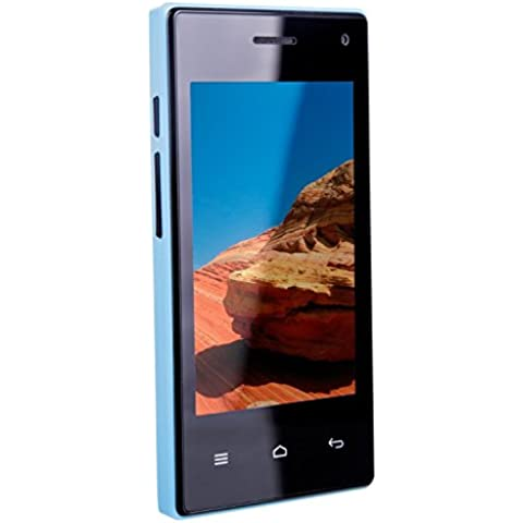 TTsims M5BLU - Smartphone Android (cargador USB) color azul