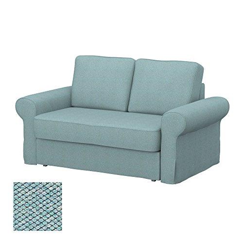 Soferia - IKEA BACKABRO Funda para sofá Cama de 2 plazas, Nordic...
