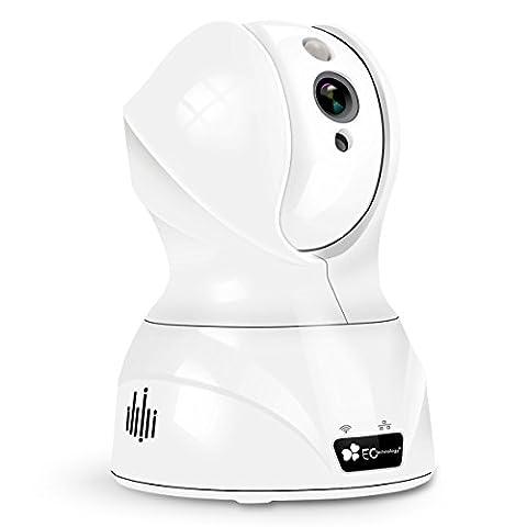 720P HD Wireless Wlan/Wifi IP Kamera von EC Technology Schwenkbare