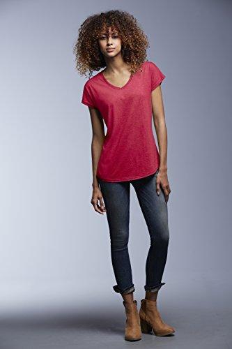 Anvil - T-shirt - Femme Heather Dark Green