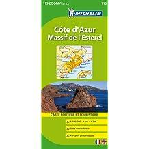 Carte ZOOM Cte d'Azur / Massif de l'Esterel