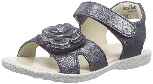 Richter Kinderschuhe Sissi, Sandales ouvertes fille Bleu - Blau (atlantic/silver  7201)