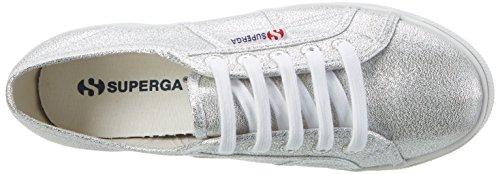 Superga Unisex-Erwachsene 2790 Lamew Sneaker Silber (Silver)
