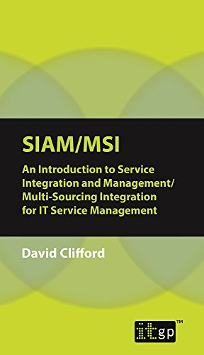 PDF SIAM-MSI: An Introduction to Service Integration and