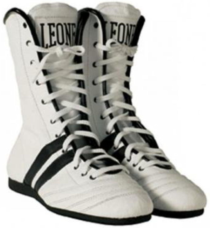 Botas Boxeo León Blanco Talla 042 León Sport  -