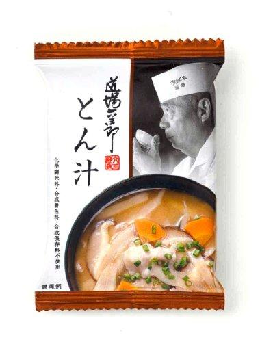道場六三郎 とん汁12g×10個