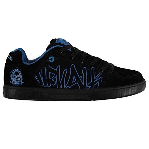 airwalk-outlaw-hommes-skate-chaussures-baskets-sneakers-sport-decontracte-black-blue-12-46
