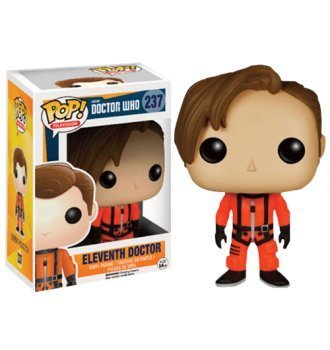 Funko BOBUGT709 Figurine - Doctor Who - Pop Vinyle - 237 Eleventh Doctor Spacesuit, Figurines & gadgets