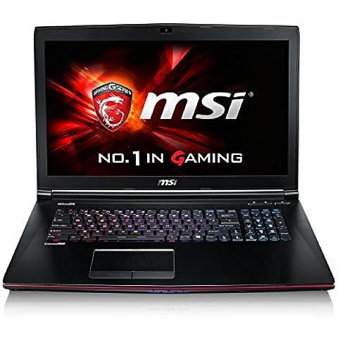 MSI GE72 2QD(Apache Pro)-250XES - Portátil de 17.3