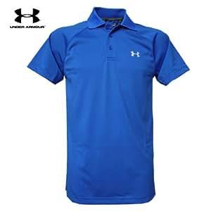 Under Armour EU Catalyst Polo Core texturé, Men's T-Shirt Bleu blue - blau (msh/vel) Small