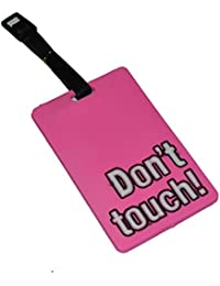 MStick Don't Touch Luggage Tag Name Bag Card Holder Travel Suitcase Baggage Straps Tags