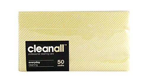 cleanall jcc50y janitors panno, Everyday, Giallo (Confezione da 24)