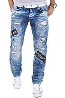 Redbridge Jeans by Cipo & Baxx RBC Herren Hose Verwaschen Clubwear Vintage Used W29-W38 L32/L34