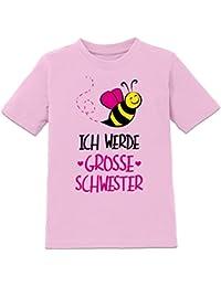 Ich werde grosse Schwester Kinder T-Shirt by Shirtcity