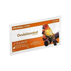 50x MXG Medical® Ovulationstest – Empfindlichkeit: 10mIU/ml