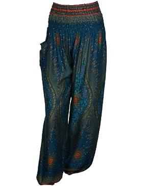 Pantalones harén–ALADDIN pantalones de Hippie con 18Diferentes diseños