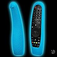 2 عبوة من غطاء سيليكون عن بعد للتلفزيون متوافق مع LG AN-MR19BA/AN-MR18BA/AN-MR650/AN-MR600 Smart TV Magic التح