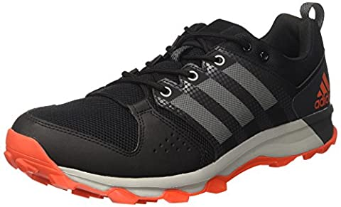 adidas Men's Galaxy M Trail Running Shoes, Red (Core Black/Grey
