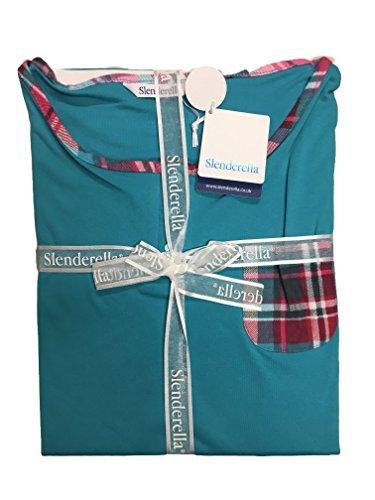 Slenderella - Ensemble de pyjama - Femme Large Turquoise