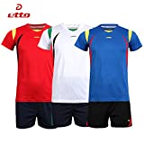 Generic Blue, L : Etto New Male Sport Breathable Short Sleeved T-shirt And