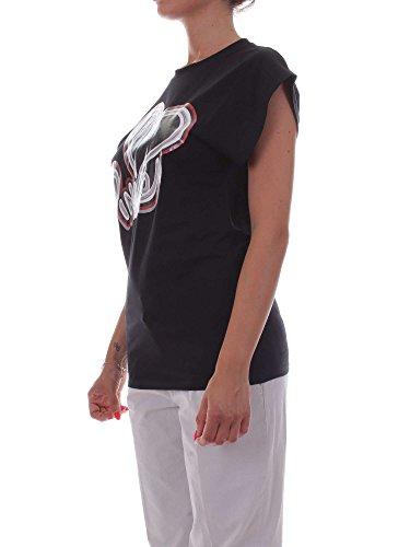 Pinko INDIPENDENTE T-Shirt Femme Nero