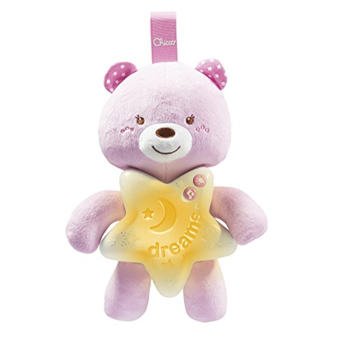 Chicco 00009156100000 - gioco first dreams bear panel, rosa