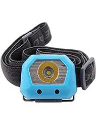 ThorFire HL1508 Linterna Frontal, Faro Ajustable de Cabeza, Perfecta para Camping, Caza, Deportes Nocturnos