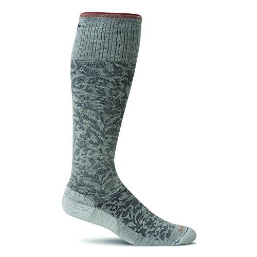 Sockwell Damen Damast Kompression socks-black, Small/Medium, damen, grau (Sockwell Damen-thermostat)