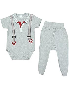 TupTam Unisex Baby Bekleidungsset mit Aufdruck 2 Tlg.