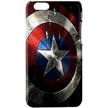 Funda carcasa Superheroes comic Capitan america para Samsung Galaxy S4 plástico rígido