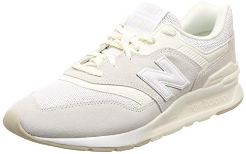 New Balance Herren 997H Core Sneaker, Weiß (White/Seasalt), 49 EU