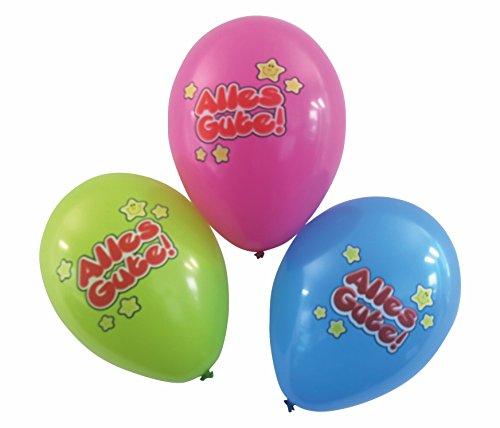 Karaloon 30065 - Ballons Alles Gute, 6 Stück