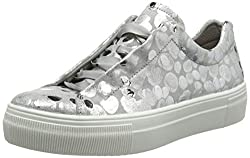 Legero Damen Lima Sneaker, Silber (Metallic Silver (Silver) 95), 40 EU