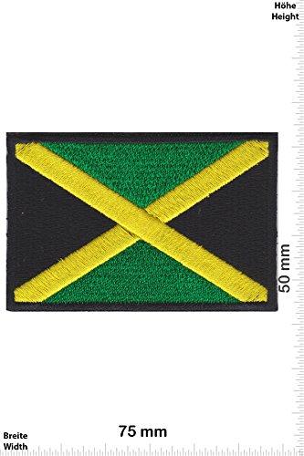 Parches - Flag Jamaica -Países - Parche Termoadhesivos