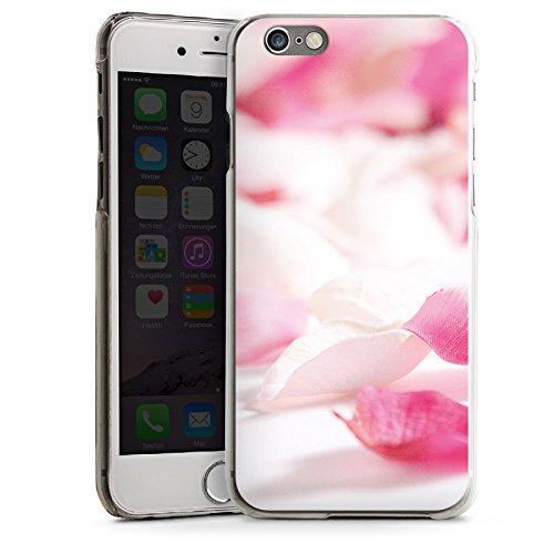 Apple iPhone 6 Housse Étui Silicone Coque Protection Pétales Fleur Fleur CasDur transparent