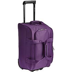 Pronto Munich Polyester 55 cms Dark Purple Travel Duffle (6519 - PL)