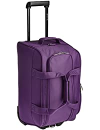 Pronto Munich Polyester 55 cms Dark Purple Travel Duffle (6519 - PL)