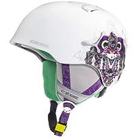 Cébé Helmet Suspense Deluxe - Casco de esquí, color blanco mate, talla 52-54 cm