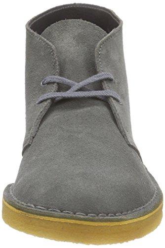 Clarks Originals Desert Boot, Chaussures de ville homme Gris (Grey Suede)
