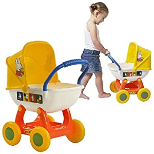 Polesie Miffy Cochecito para muñecas - Accesorios para muñecas (Cochecito para muñecas,, plástico, 1 Asiento(s), Child, Chica)