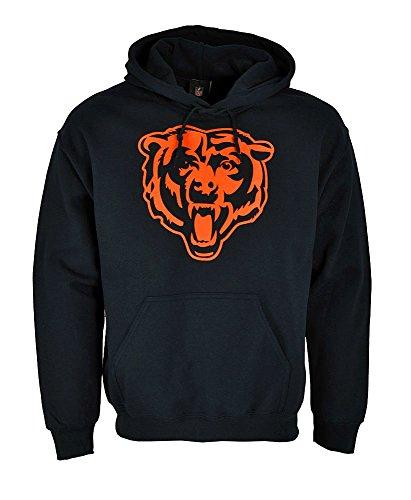 Majestic NFL Football Hoodie Kapuzenpullover Chicago Bears, navyblau (Nfl Bears)
