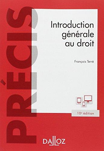 Introduction gnrale au droit - 10e d.
