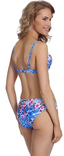 Merry Style Damen Push Up Bikini Set P504-69KW Muster-4