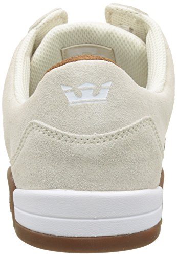 Supra Ellington, Low Men Blanc (white-gum)