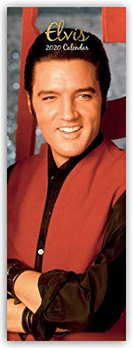 Elvis 2020 - Slimline-Kalender: Original The Gifted Stationery Co. Ltd [Mehrsprachig] [Kalender]