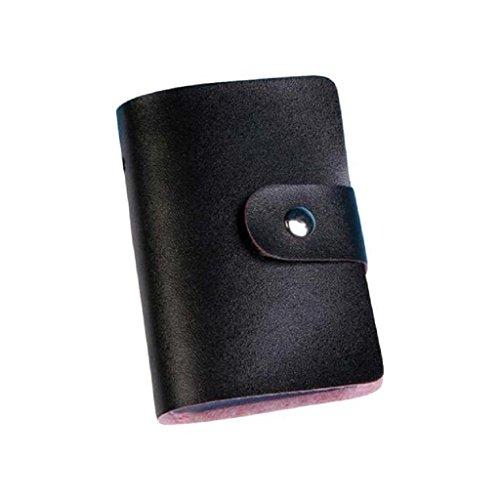 Sammlung Mode Hobo (Karten-Satz,WINWINTOM Leder Kreditkarteninhaber -Kasten-Kartenhalter-Mappen-Visitenkarte (Schwarz))