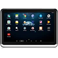 DDAUTO Android Tablet 6.0 Reproductor Portátil 10.1 pulgadas IPS Car Reposacabezas Multimedia Monitor, Bluetooth 4.0, Batería incorporada 4000mAh, Lightweigh, Ultradelgada, Compatible con HDMI/FM/Wifi