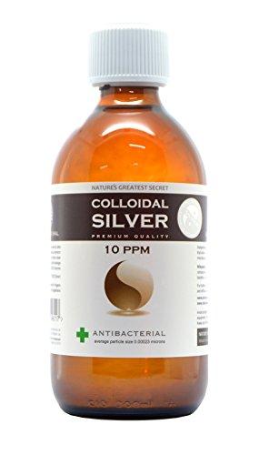 Enhanced Colloidal Silver 10 ppm Amber Glass 300ml